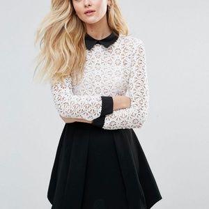 ASOS English Factory lace dress - Medium